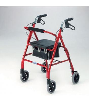 Roma Medical Lightweight 4 Wheel Rollator
