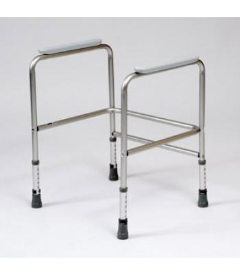 Roma Medical Aluminium Height Adjustable Toilet Surround